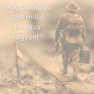 Egy katona a honvédségi lakáspénz segítségével halad a 150 millió forintis célja felé